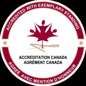 Accreditation Canada - Exemplary Level Seal