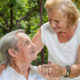 Elderly couple enjoying life together during retirement